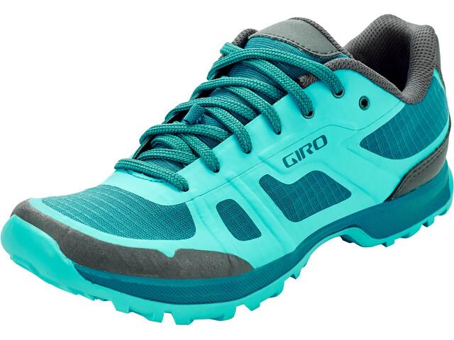 Giro Gauge Zapatillas Mujer, Turquesa